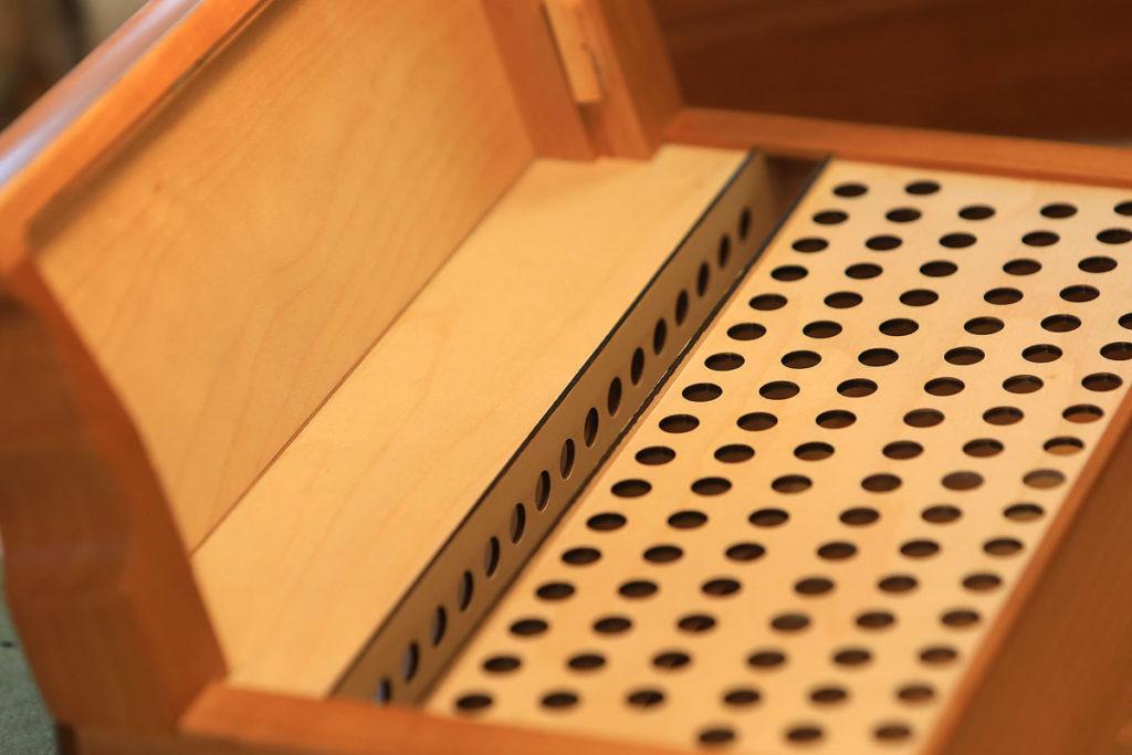 Cassottoschacht (Tonkammer) der Rumberger Cassotto 50/23 R